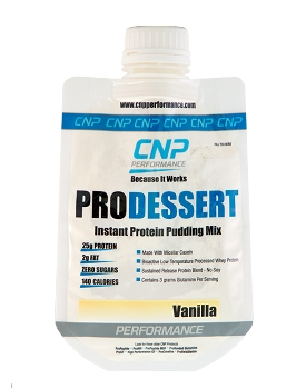Pro Dessert Instant Protein Pudding Mix 15 Pack (Vanilla)