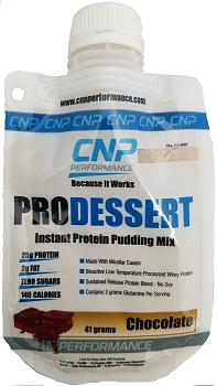 Pro Dessert Instant Protein Pudding Mix 5 Pack (Chocolate)