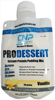 Pro Dessert Instant Protein Pudding Mix 5 Pack (Vanilla)