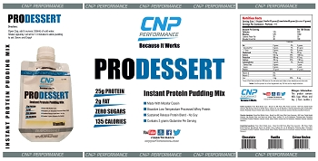 Pro Dessert Instant Protein Pudding Mix 15 Pack (Chocolate)