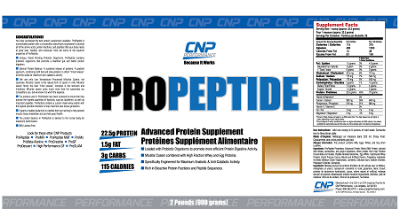 PROPEPTIDE CHOCOLATE MALT  5LB